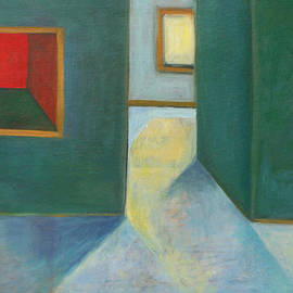 Victoria Sheridan - Interior with painting