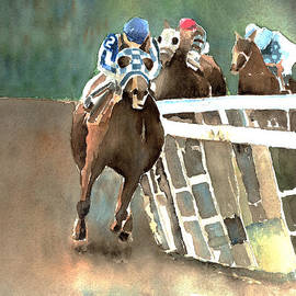 Arline Wagner - Into The Stretch And Headed For Home-Secretariat