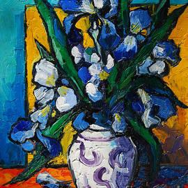Mona Edulesco - Irises