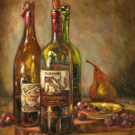 Brenda Brannon - Italian Wine Bottles
