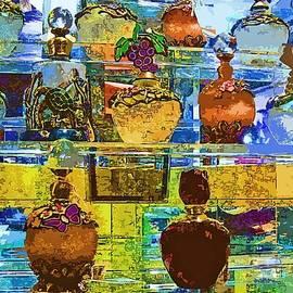 Pamela Patch - Jeweled Perfume Bottles