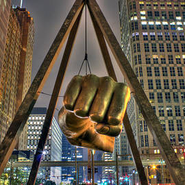 Nicholas  Grunas - Joe Louis Fist Detroit MI