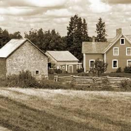 Mark Sellers - Joslin Farm 1860 Sepia 1
