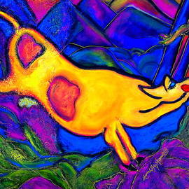 Laura  Grisham - Joyful Yellow Cow