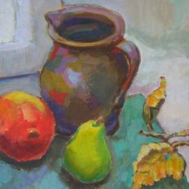 Alfons Niex - Jug with fruit