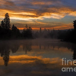 Reflective Moment Photography And Digital Art Images - Just Another Magical Sunrise