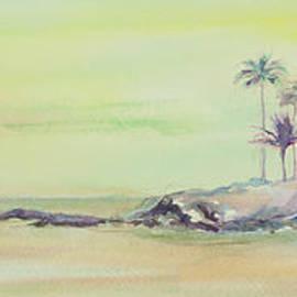Elena Liachenko - Kailua Beach at sunset