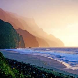 Kevin Smith - Kalalau Beach Sunset