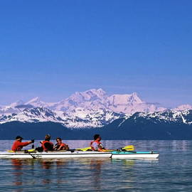 Sally Weigand - Kayakers in Alaska