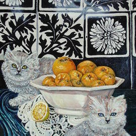 Ralf Glasz - Kittens with Seville Oranges