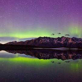 Sam Amato - Knik Aurora Reflections