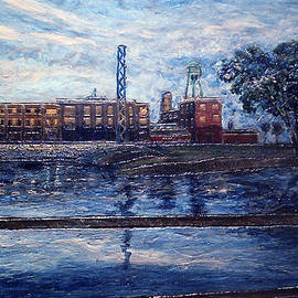 Jonathan E Raddatz - Lachine Canal at Dusk