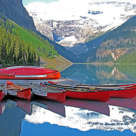 Gerry Bates - Lake Louise Canoes