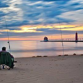 Larry Carr - Lake Michigan Fishing