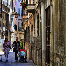 David Smith - Lane in Palma de Majorca Spain