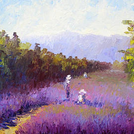 Terry  Chacon - Lavender Fields