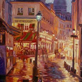 David Lloyd Glover - Le Consulate Montmartre