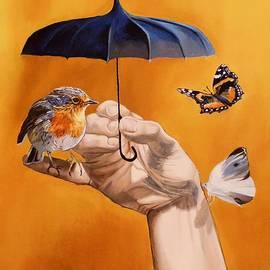 Nicole MARBAISE - Le Parapluie