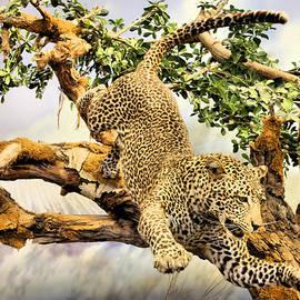 Kristin Elmquist - Leaping Leopard