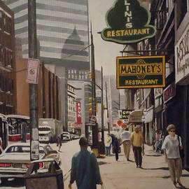 James Guentner - Liberty Avenue In The 80s