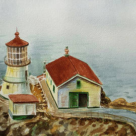 Irina Sztukowski - Lighthouse Point Reyes California