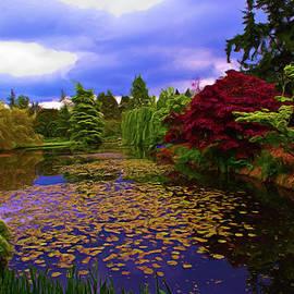 Jim  Hatch - Lily Pond At VanDusen