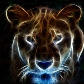 Maggy Marsh - Lioness Light Art