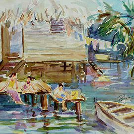 Xueling Zou - Living on the Water