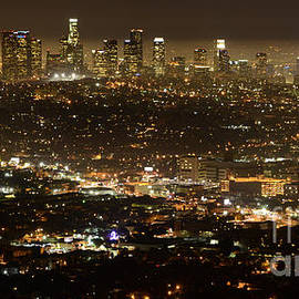 Bob Christopher - Los Angeles  City View At Night