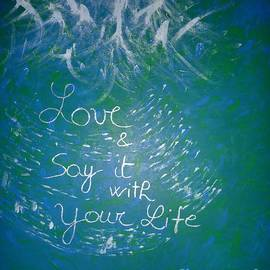 Piercarla Garusi - Love and Say It With Your Life