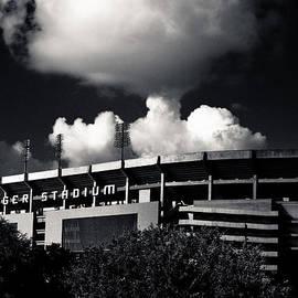 Maggy Marsh - LSU Tiger Stadium Black and White