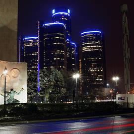 Gordon Dean II - Made In Detroit Michigan - Woodward and Jefferson At Night