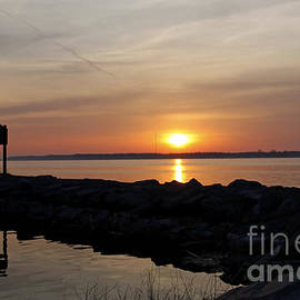 Inspired Nature Photography By Shelley Myke - Majestic Sunset at the Point