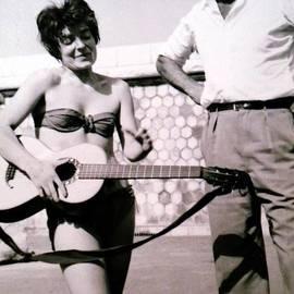 Colette V Hera  Guggenheim  - Mama Chris and Gary Cooper in LA 1958