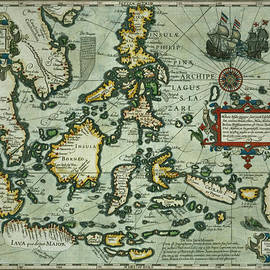 Dutch School - Map of the East Indies