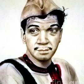 Jim Fitzpatrick - Mario Moreno as Cantinflas in El Bombero Atomico