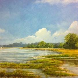 Peggy Ellis - Marsh Reflections
