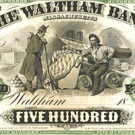 Padre Art - Massachusetts Money 1862