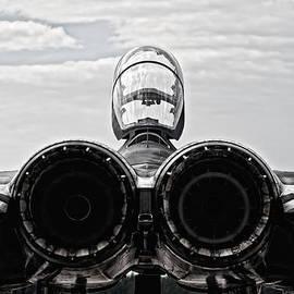Marta Holka - McDonnel Douglas F-15 back view
