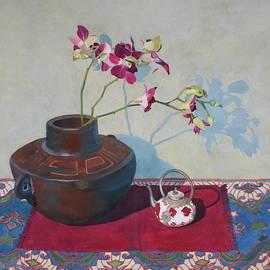 Jan Lawnikanis - Miniature Teapot Still-Life
