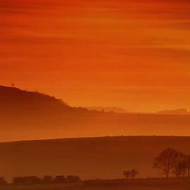 Mark Leader - Misty Sunset