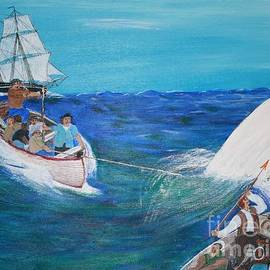 Bill Hubbard - Moby Dick - The White Whale
