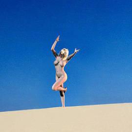 Broken  Soldier - Mojave Dune