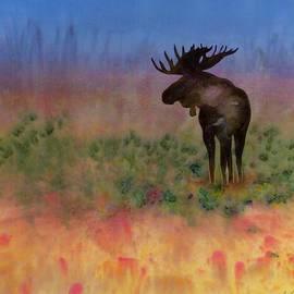 Carolyn Doe - Moose on the tundra
