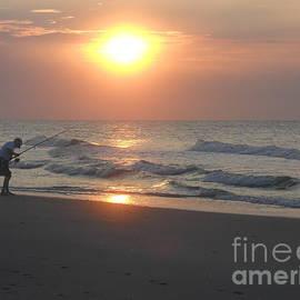 Deborah M Rinaldi-Roberts - Morning Fisherman