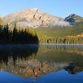 Larry Ricker - Morning Reflection at Pyramid Lake