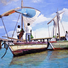 Stuart B Yaeger - Mosambique Fishermen