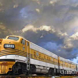 Jerry L Barrett - Mountain Train