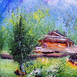 Janice Robertson - Mountain Wood Shed