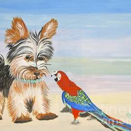 Phyllis Kaltenbach - Mouthy Parrot